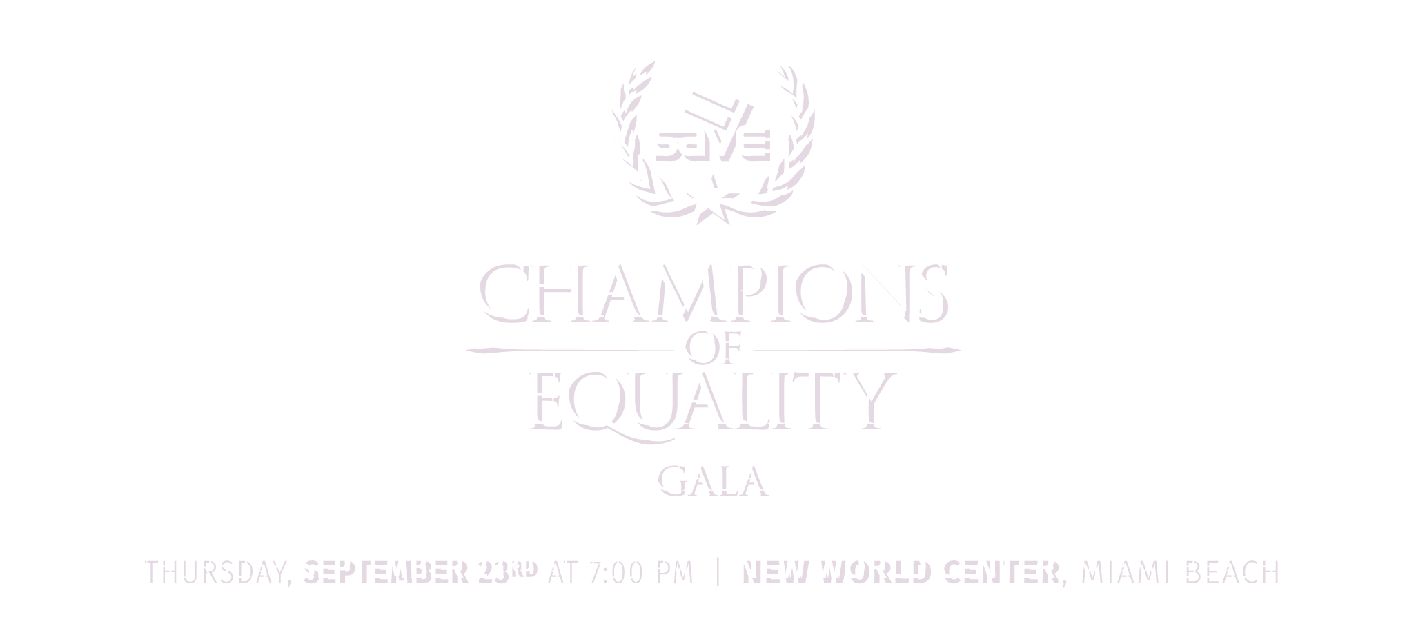 Champions of Equality Gala