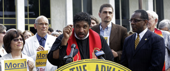 Rev. William Barber, President of the North Carolina NAACP