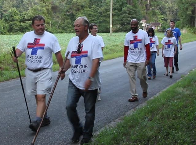Belhaven mayor continues walk to D.C. to save Vidant Pungo Hospital