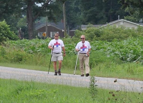 Adam O'Neal: A walk to improve health care