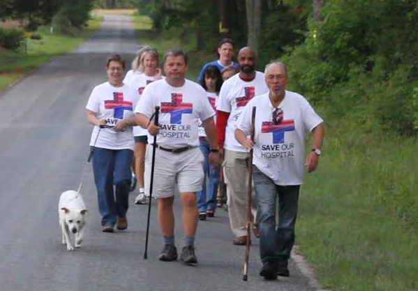 N.C. small town mayor walking to D.C. to protest hospital closing