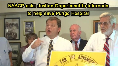 NAACP asks the Justice Department to intercede in helping save Pungo Hospital