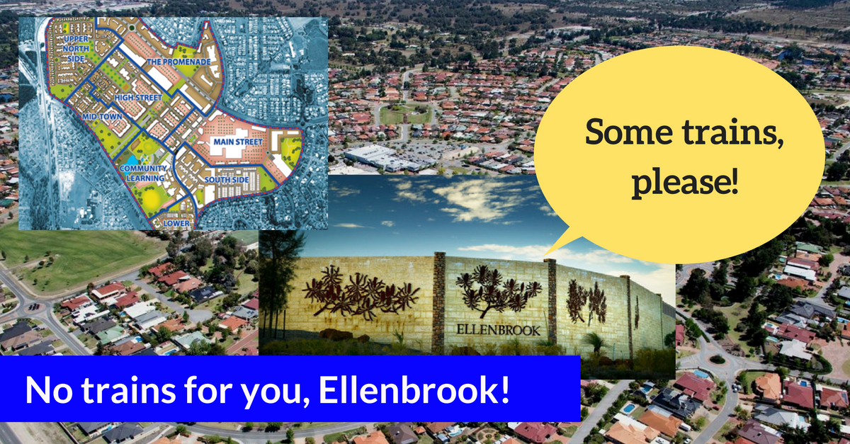 Waiting for trains (maybe) until 2050 is not what the residents of Ellenbrook signed up for
