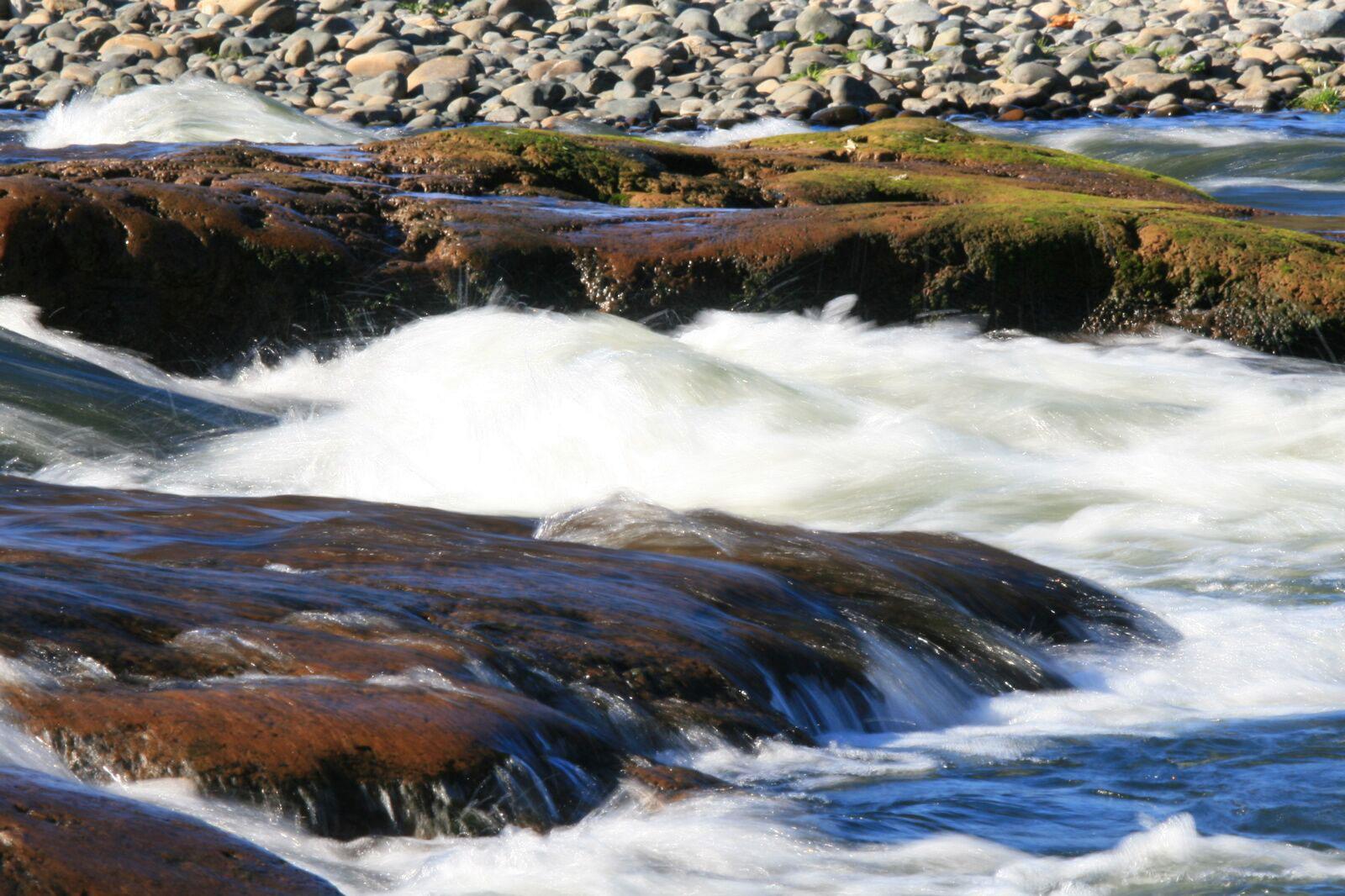 American River rapids