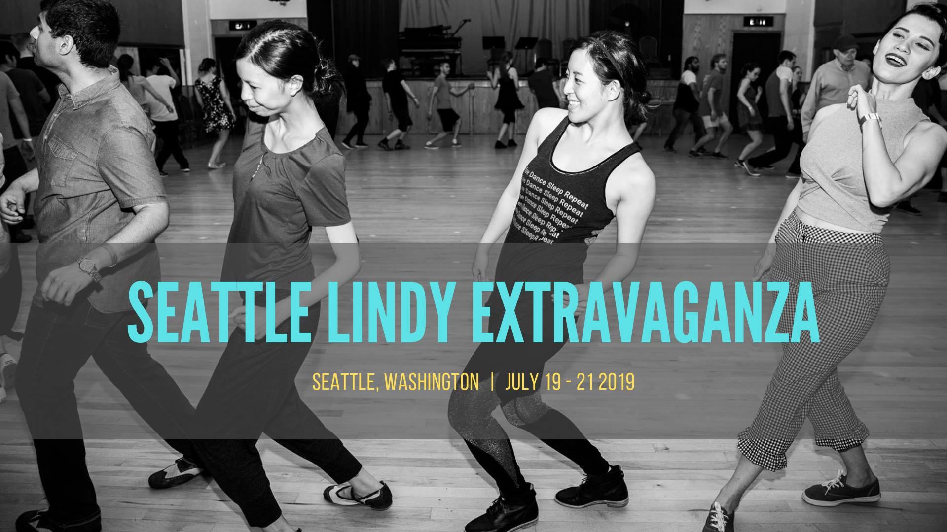 Seattle Lindy Extravaganza 2019 - July 19-21, Seattle WA