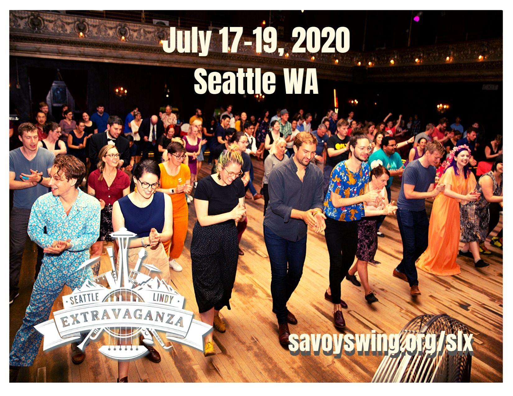 Seattle Lindy Extravaganza 2020 - July 17-29, Seattle WA
