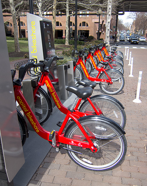 Bikeshare in Washington D.C.
