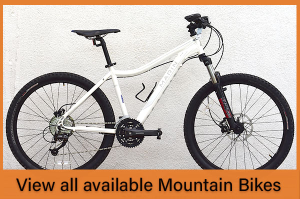 View all available mountain bikes