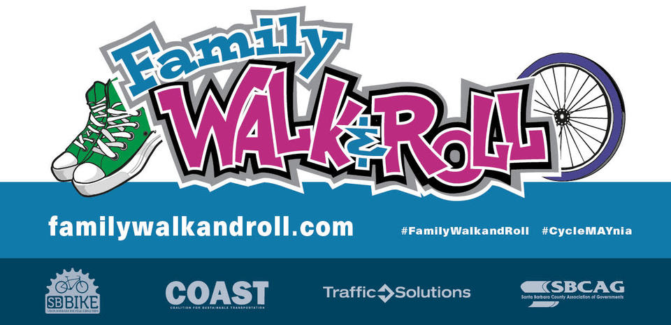 Family Walk & Roll Logo