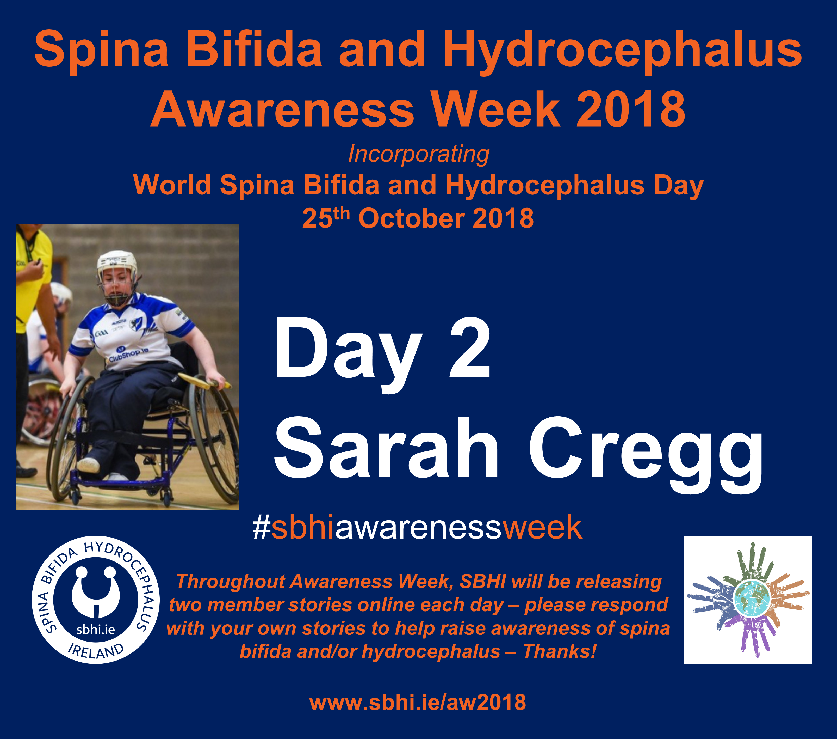 Spina Bifida Hydrocephalus Awareness Week 2018 - SBHI