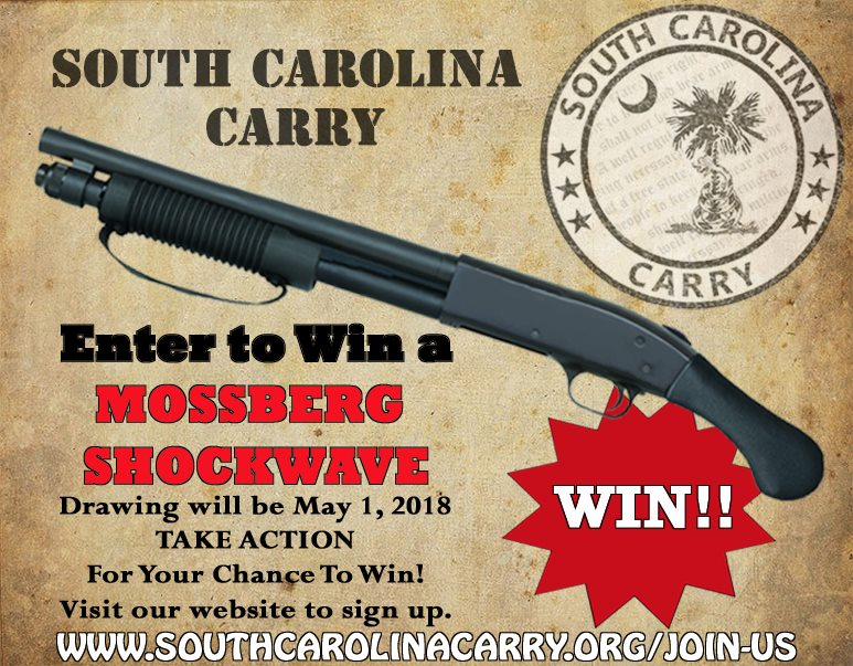Mossberg Shockwave Give Away May 1st