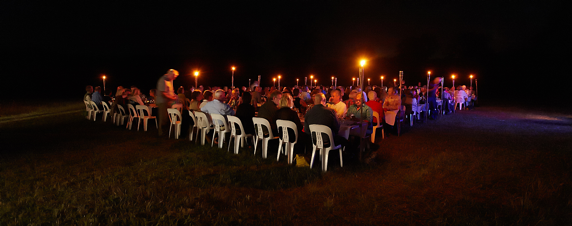 Earth Hour 2015 - Plates in the Paddock