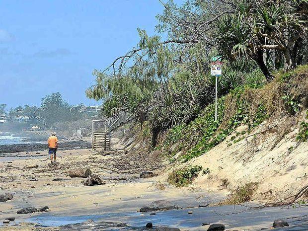 Coastal erosion Alex Maroochydore