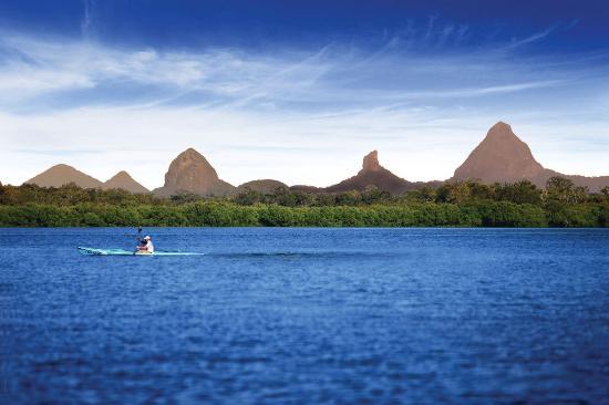 Kayaking the Pumicestone