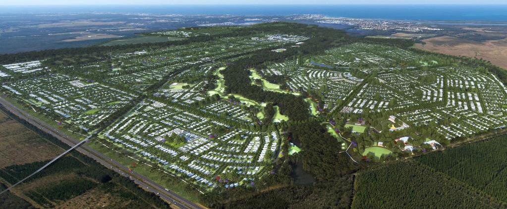 The Caloundra South 'Aura' Development