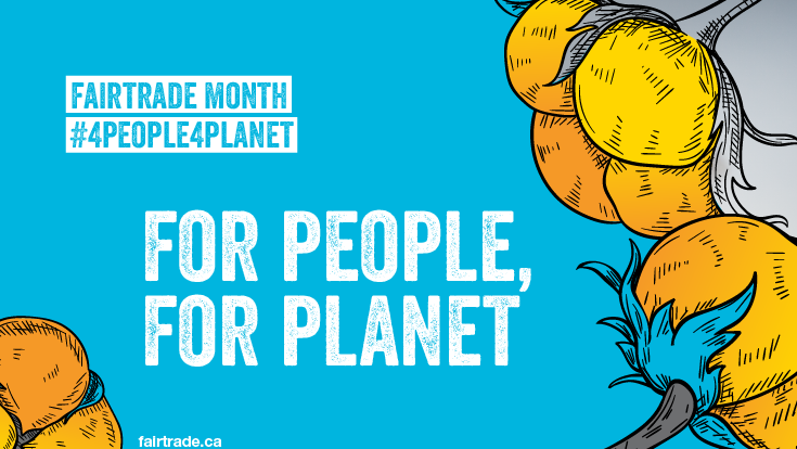 For People, For Planet | Fair Trade Month