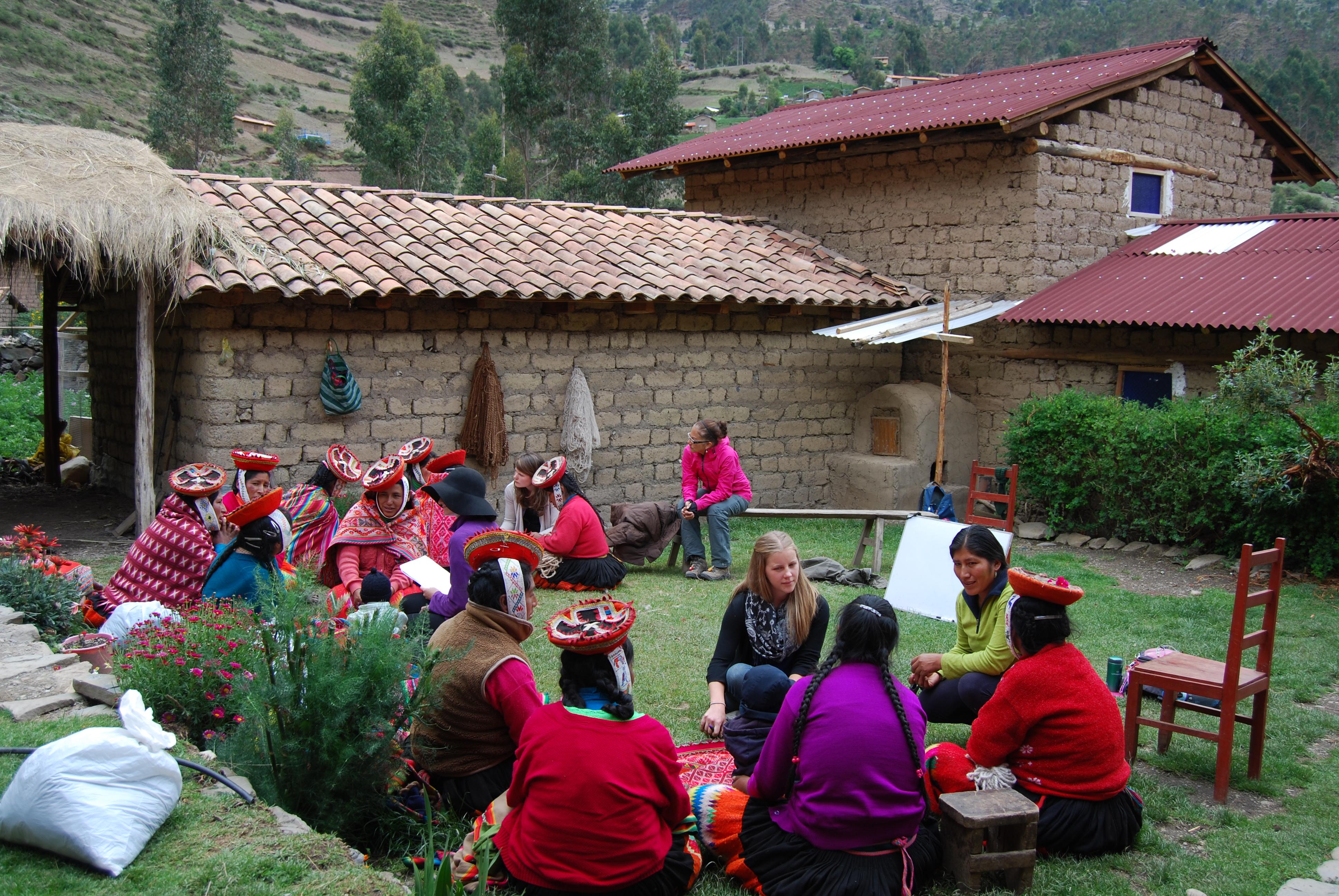 Awamaki Women's Empowerment Workshop, Sacred Valley, Peru (Photo by Assunta Sergi)