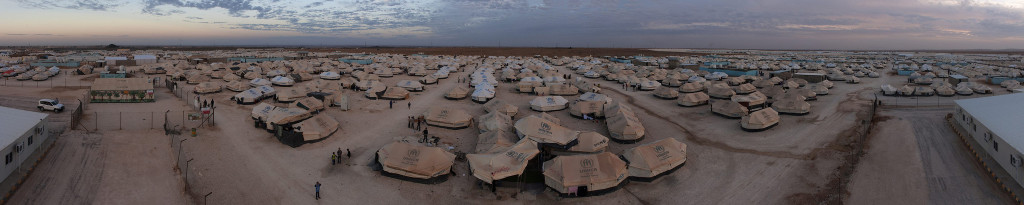 Zaatari refugee camp, Jordan - UNHCR, Creative Commons License