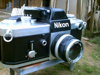 Camera coffin