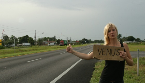 Maja Borg on the way to Venus, Florida
