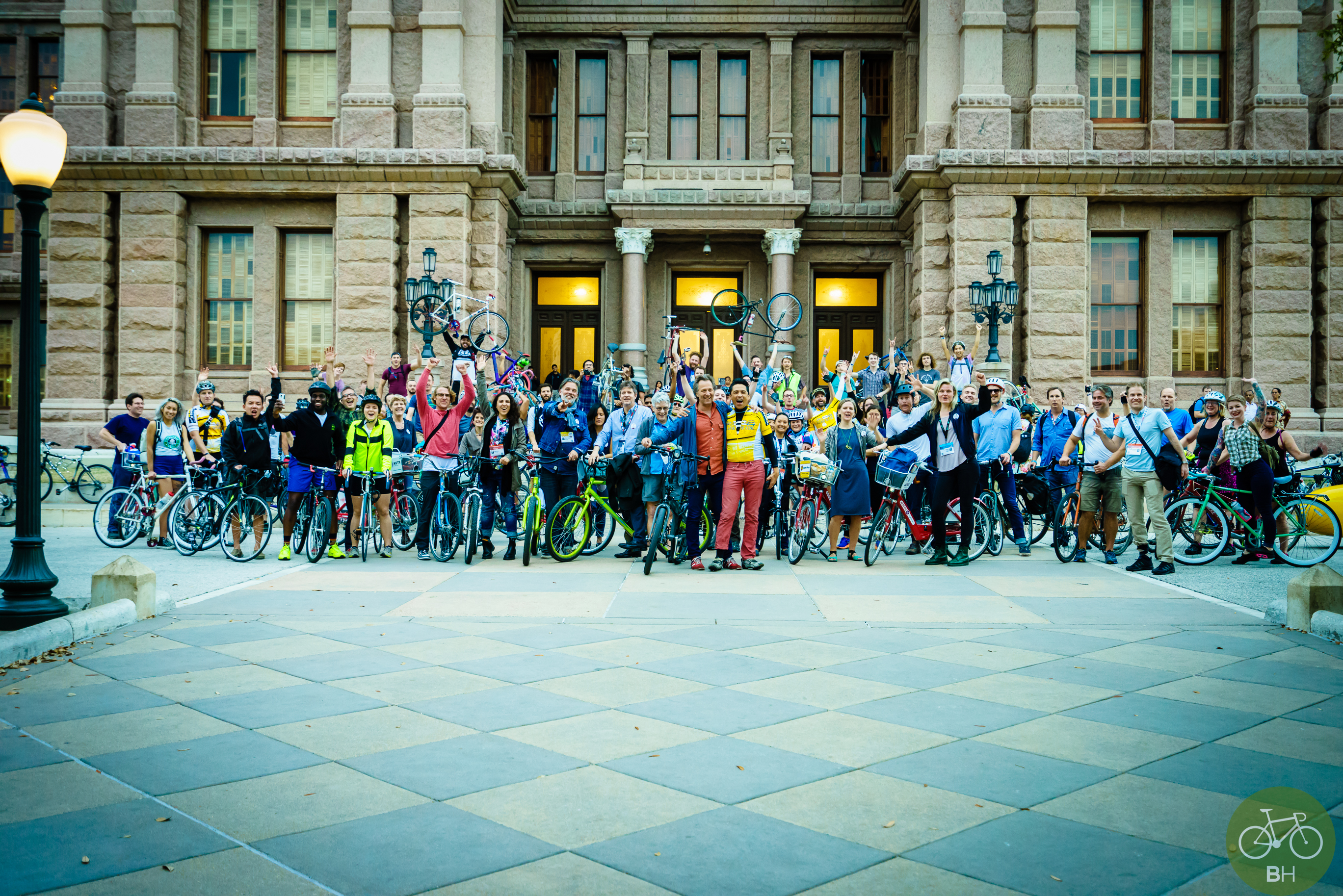 SXSW Bike Hugger Meet-Up before our world premiere. photo cred: Bike Hugger