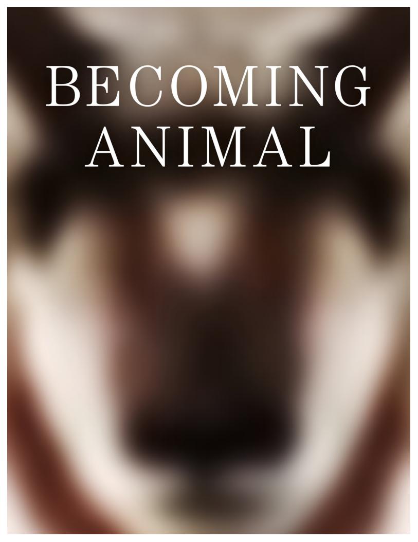 Becoming Animal Press Kit