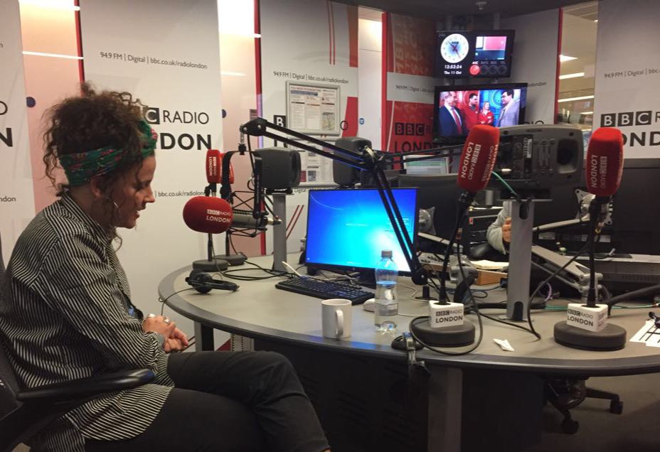 Naziha at BBC
