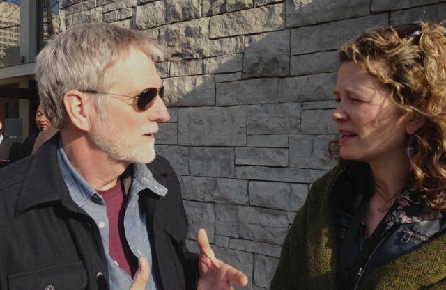 Emma with John Walker