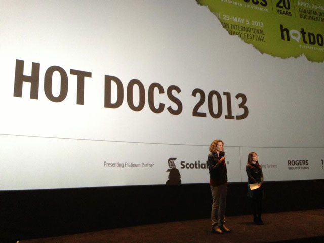 I AM BREATHING at Hot Docs 2013