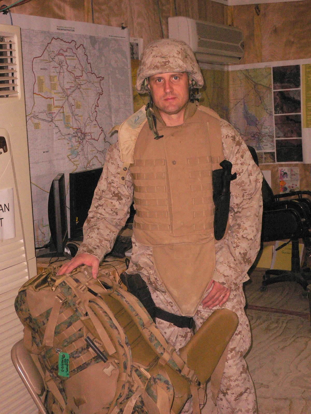 Scott Gunderson Serving In Iraq