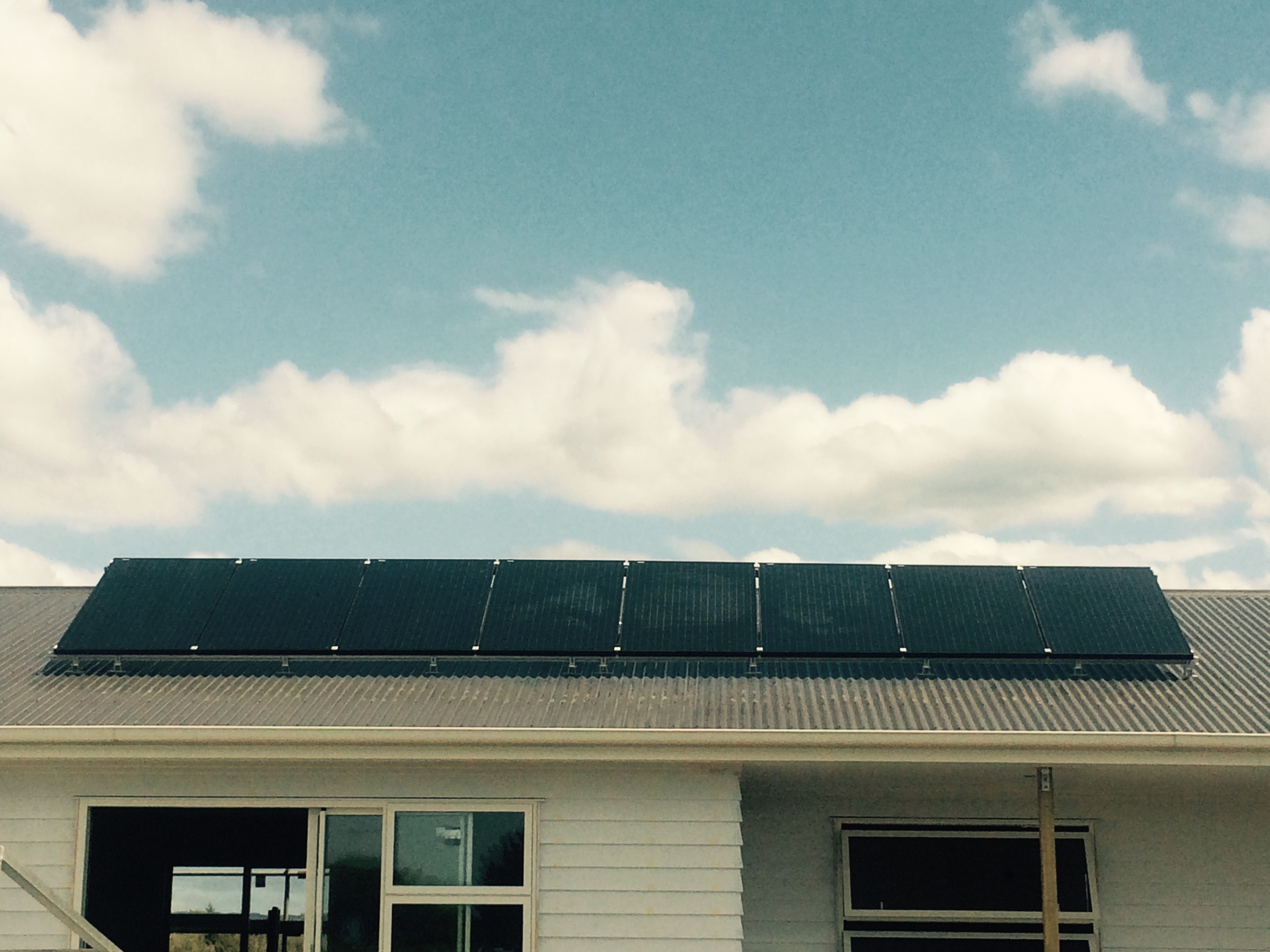 solar panels installed by Solar Options on roof