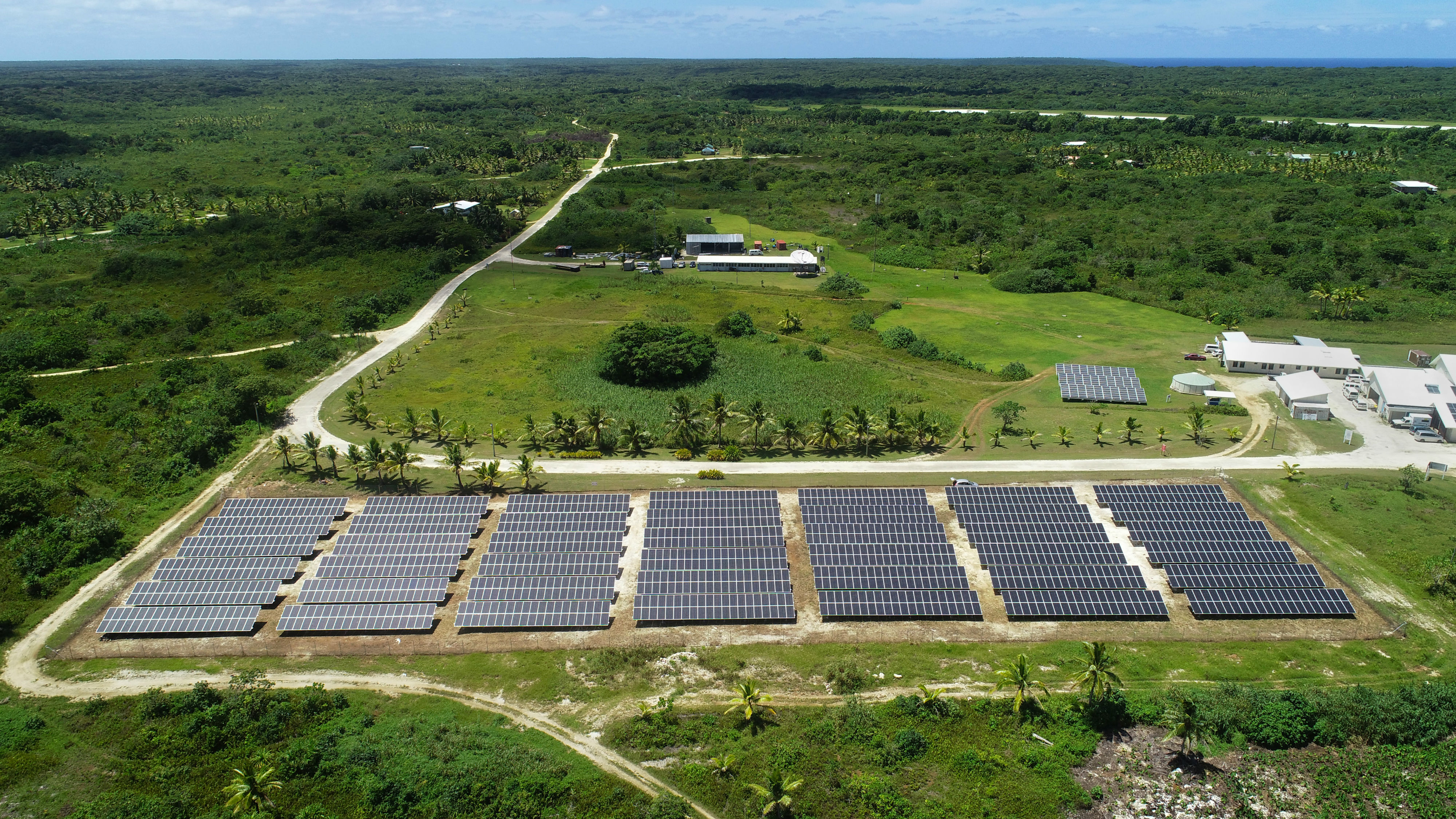 600kW solar farm in Niue