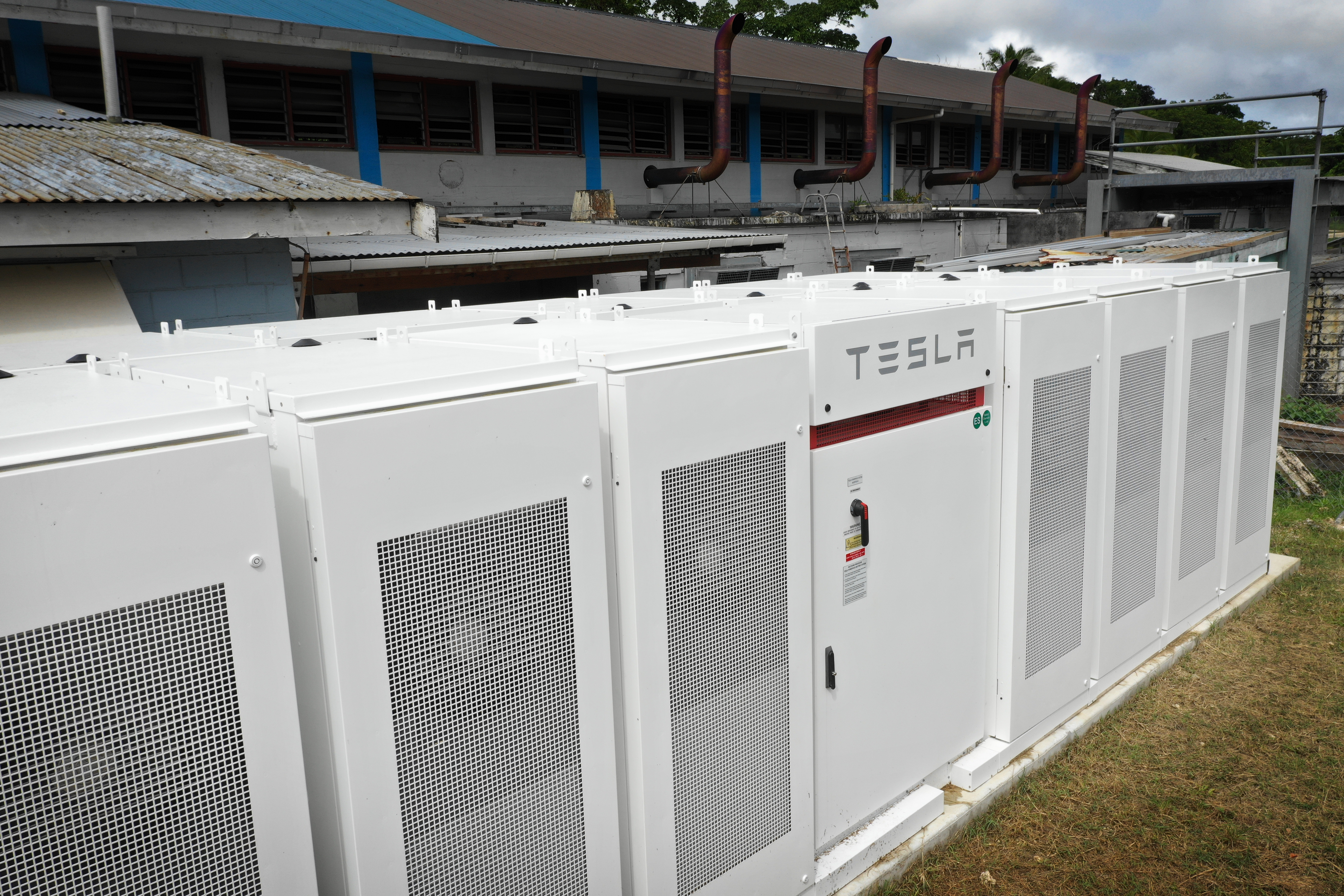 3MWh Tesla Battery in Niue