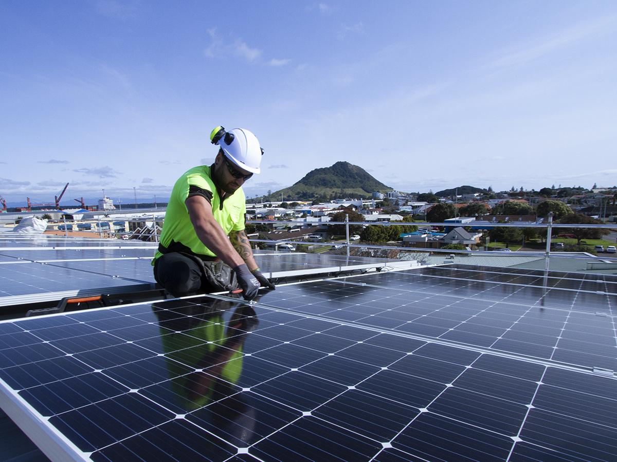 PowerSmart_Zespri_Solar_Install