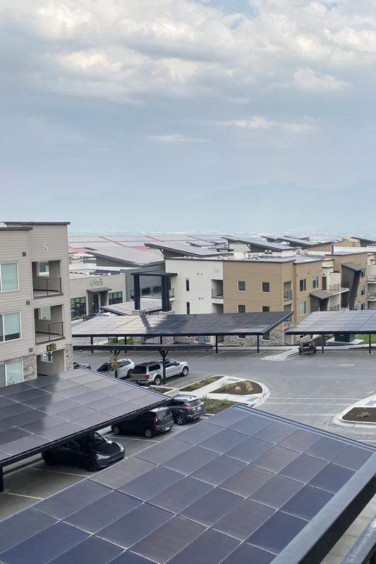 solar on garage roofs