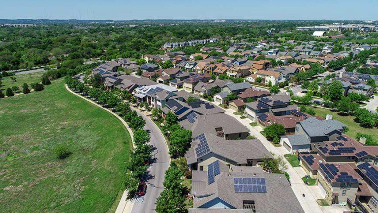 Rooftop Solar Suburb