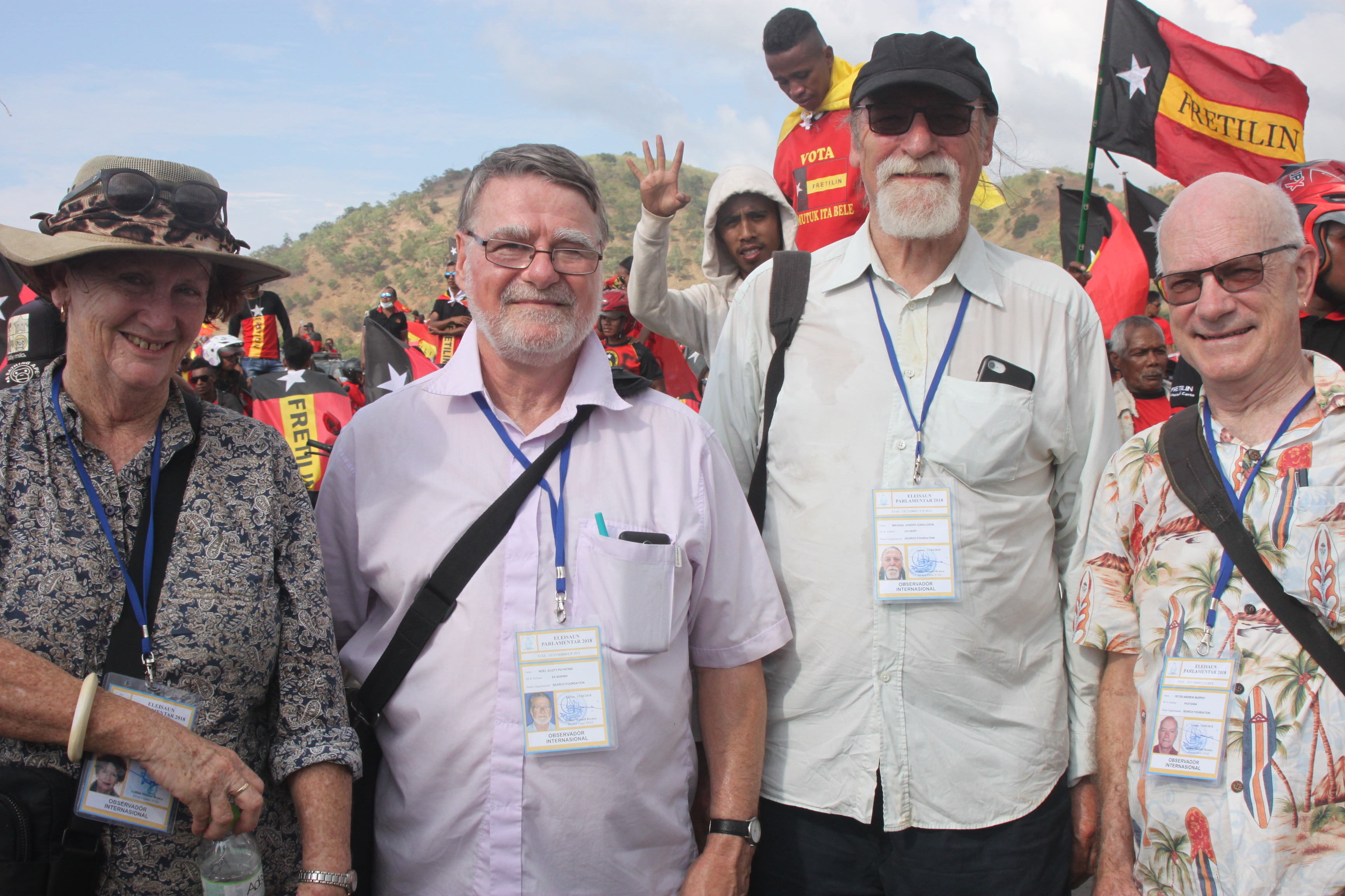 SEARCH Delegation to Timor Leste