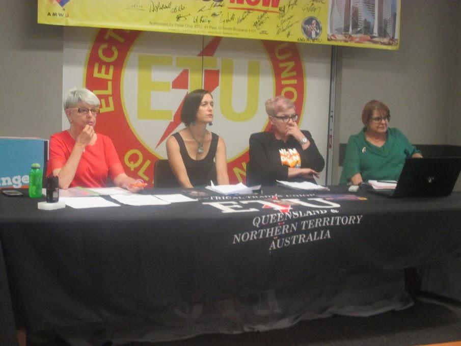 Women's Work Brisbane event - photo by Paul Norton