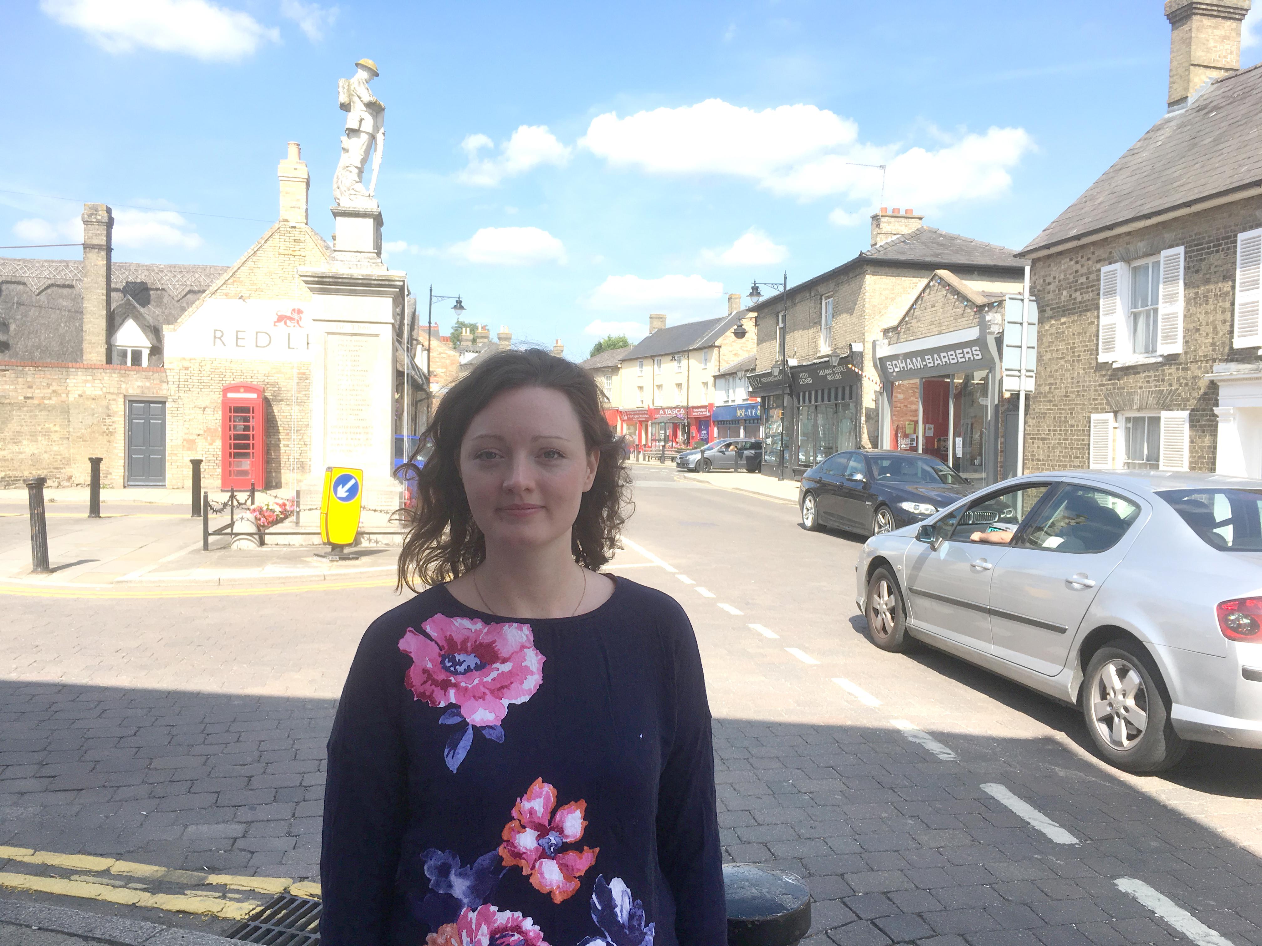 victoria charlesworth in Soham high street