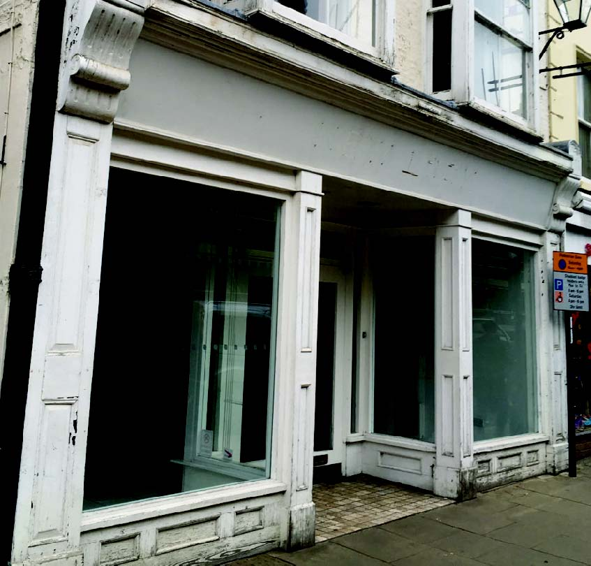 empty shop in ely city centre