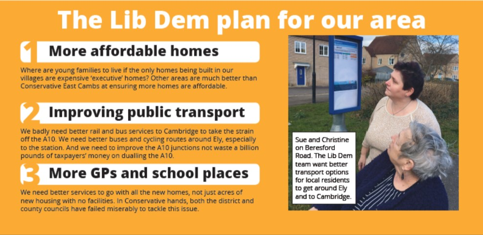 Our Plan For Ely West