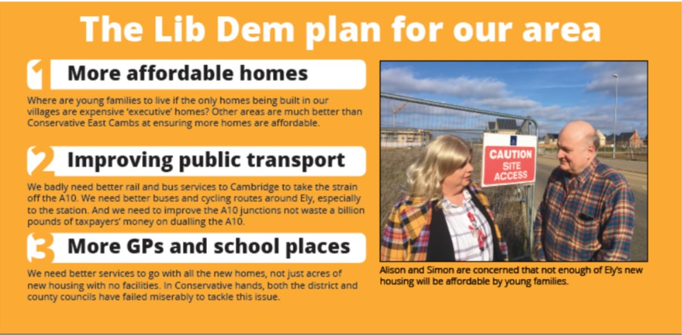 Our Plan For Ely North