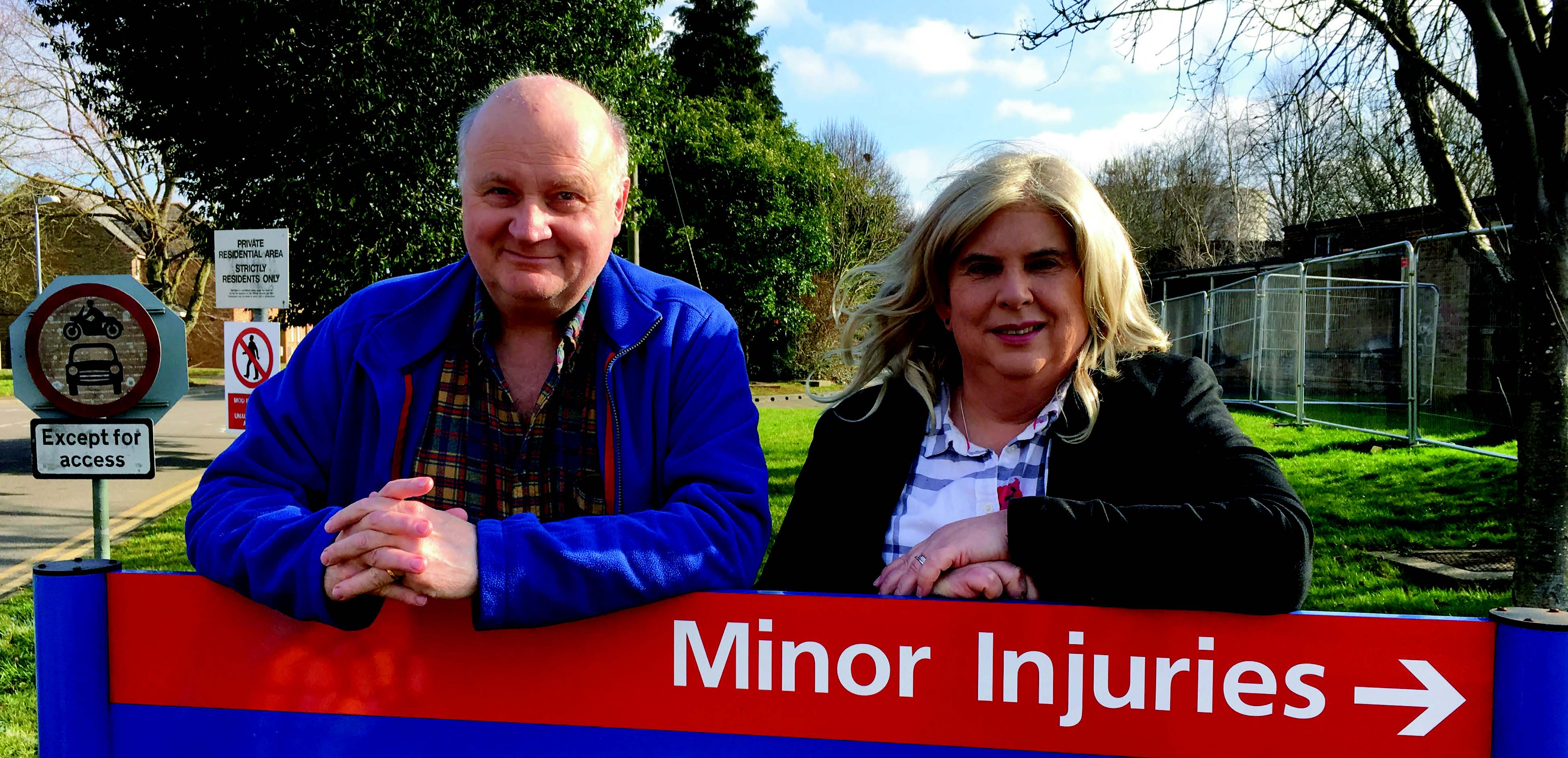 Simon Harries and Alison Whelan The Lib Dem team fighting to get a better deal for Ely North