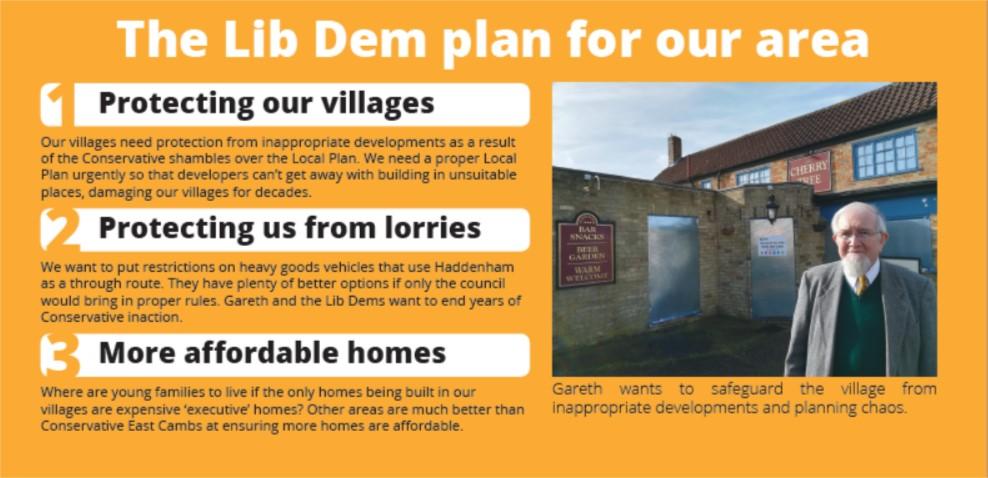 Our Plan For Haddenham