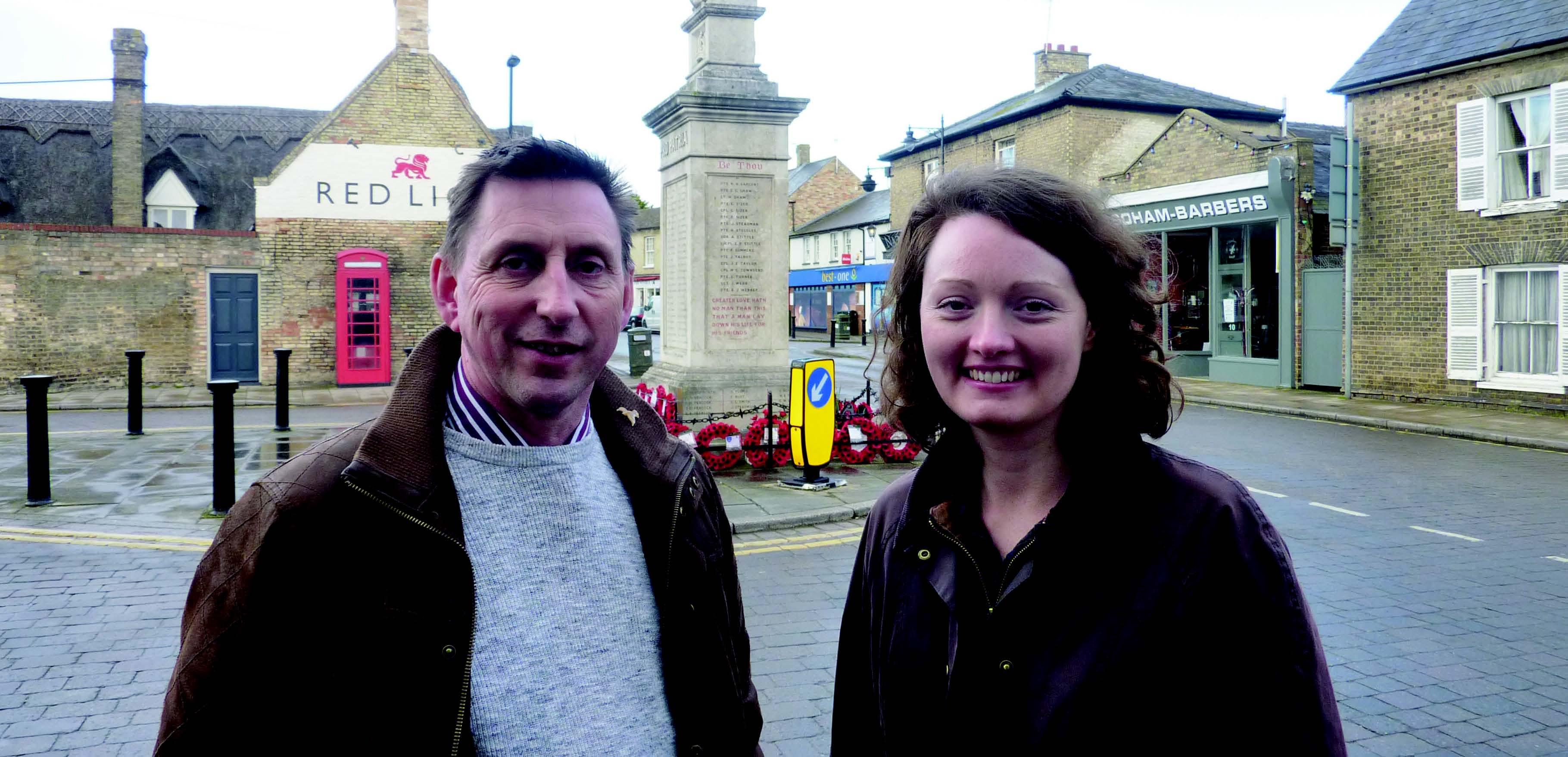 Alec Jones and Victoria Charlesworth Your Candidates for Soham North