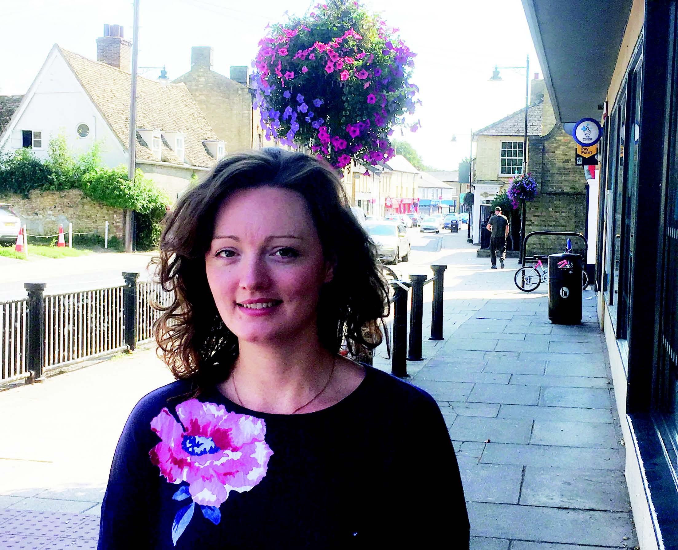 Victoria Charlesworth - safeguard the town centre