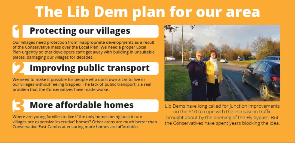Our Plan for Stretham