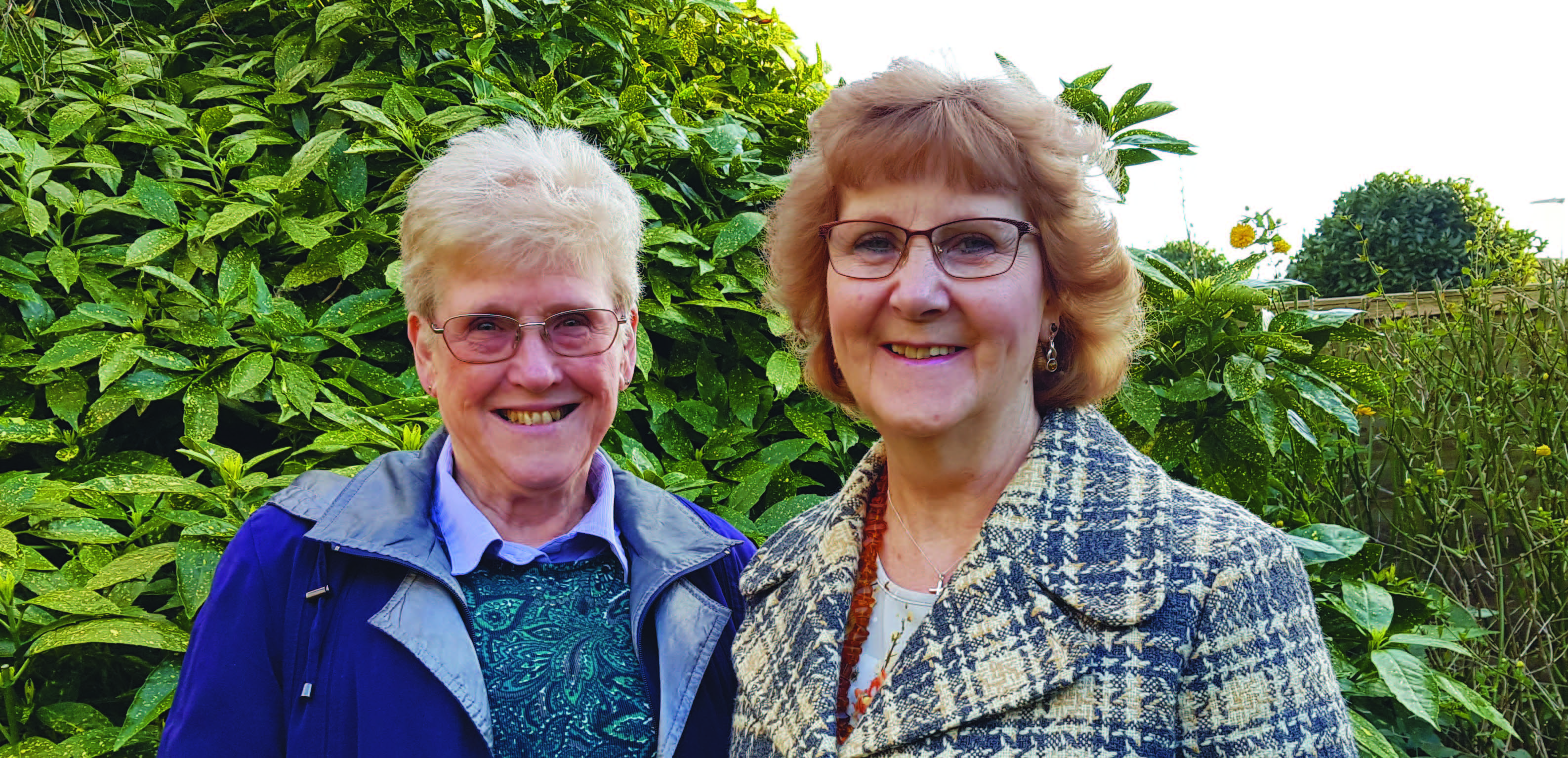 Rosemary Westwell and Pauline Wilson Your Candidates for Stretham Ward