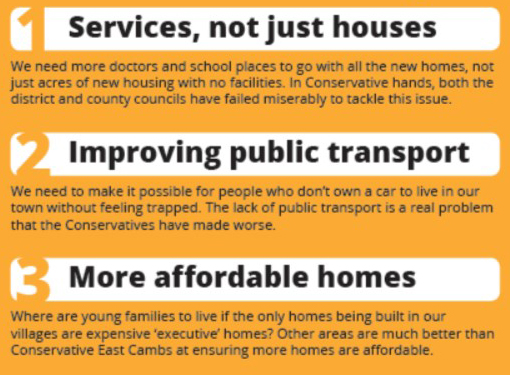 Our Plan For Soham South
