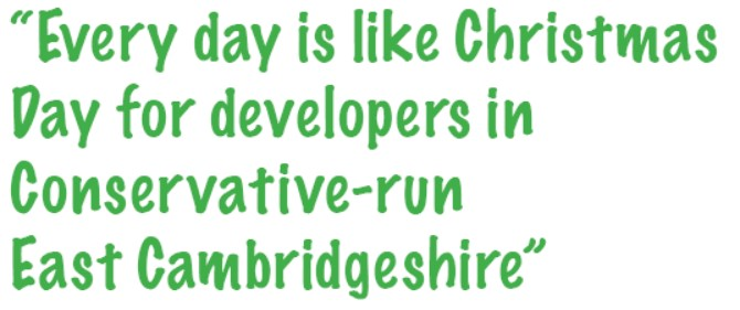 Every day is like Christmas day for developers in East Cambridgeshire